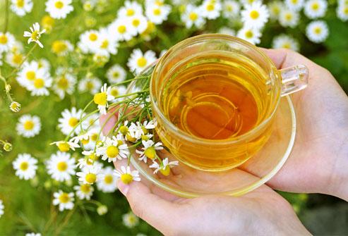 ceaiuri cu efect de relaxare - mușețel